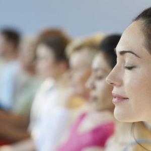 Практика медитации за donation