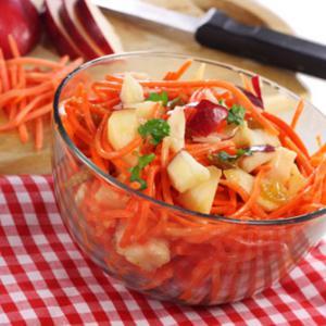рецепты салатов из яблок
