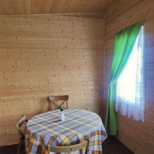 4-х местный дачный домик с питанием на территории экофермы на летний сезон