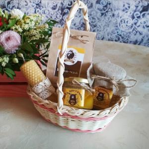 Подарок с мёдом и другими натуральными продуктами